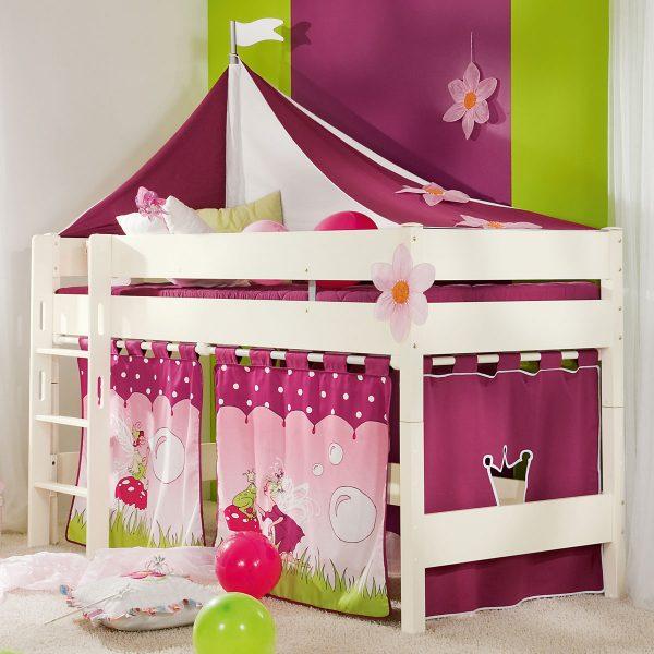 hochbett mit vorhang cool von piraten hochbett clever design vorhang fr seiten stoff hochbett. Black Bedroom Furniture Sets. Home Design Ideas