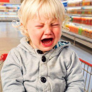 Drama im Supermarkt Einmischen