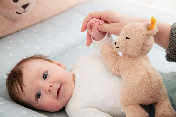 Babyzimmer Lotte & Fynn mit PAIDI Bär
